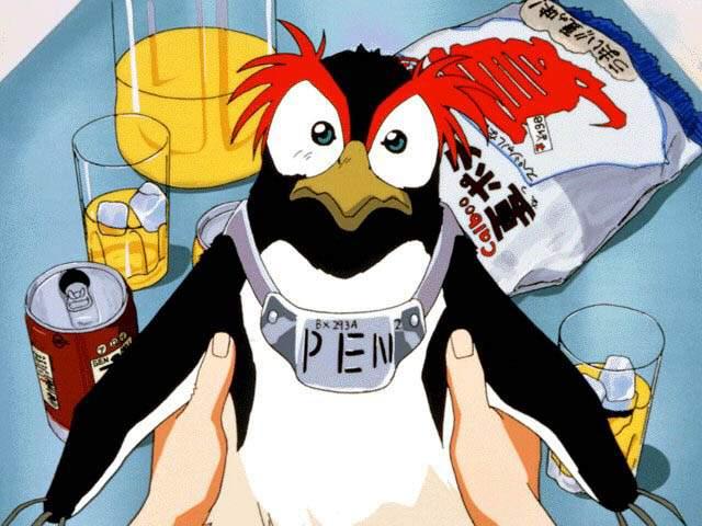 Evangelion Pen-Pen anime bird