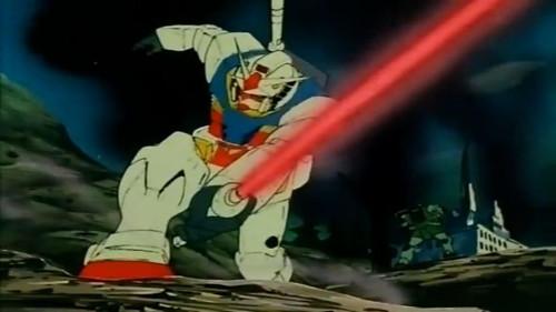 [Mobile Suit Gundam] Gundam first anime