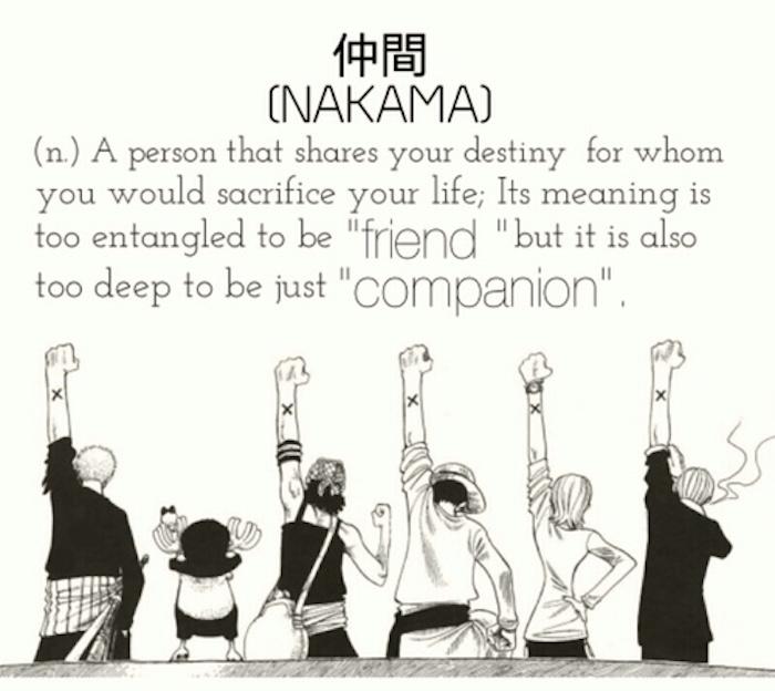 Nakama One Piece Definition