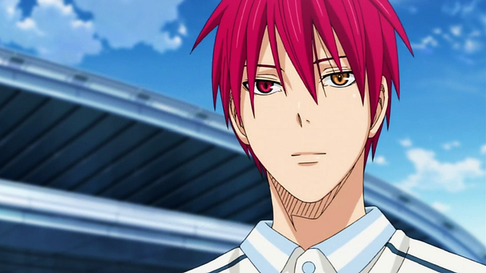 Top 15 Anime Characters with Mismatched Eyes - Seijuuro Akashi (Kuroko no Basuke)
