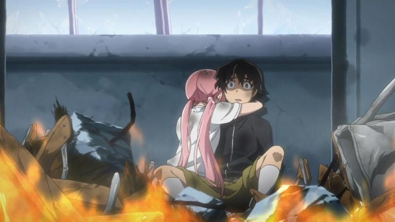 Mirai Nikki best survival anime