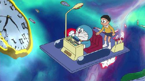Doraemon, Time Machine