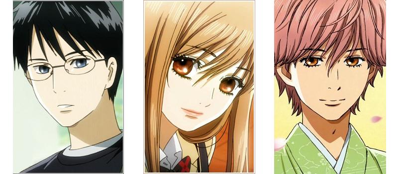 Chihayafuru love triangle anime