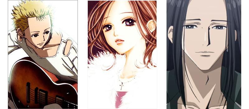 Nana love triangle anime