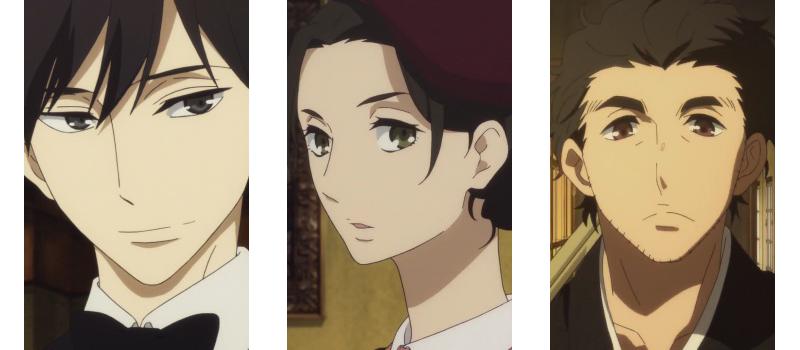 Shouwa Genroku Rakugo Shinjuu love triangle anime