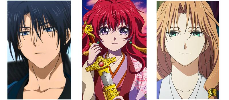 Akatsuki no Yona love triangle anime