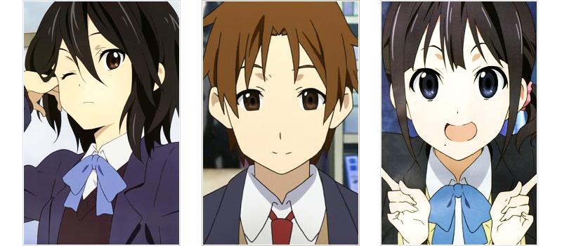 Kokoro Heart love triangle anime