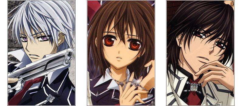Vampire Knight love triangle anime