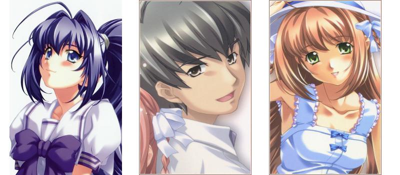Kimi ga Nozomu Eien love triangle anime