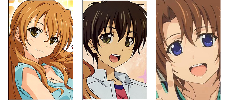 Golden Time love triangle anime
