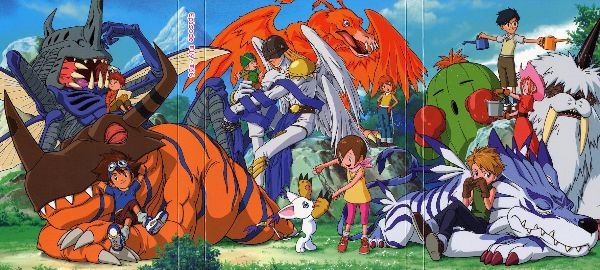 Digimon Adventure anime like pokemon