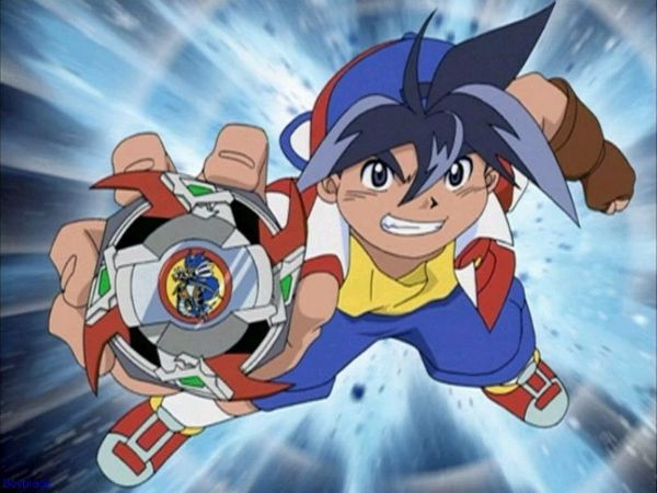 Bakuten Shoot Beyblade anime like pokemon