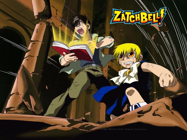 Konjiki no Gash Bell!! (Zatch Bell anime like pokemon)