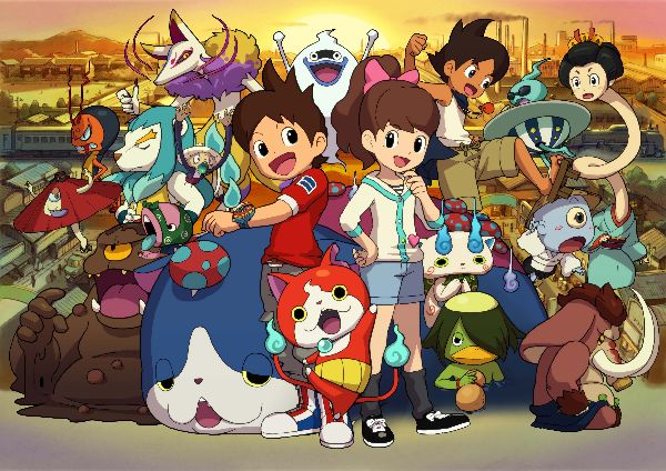 Youkai Watch anime like pokemon
