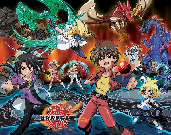 Bakugan Battle Brawlers anime like pokemon