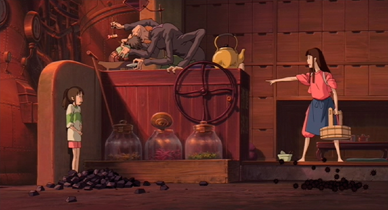Spirited Away VR anime