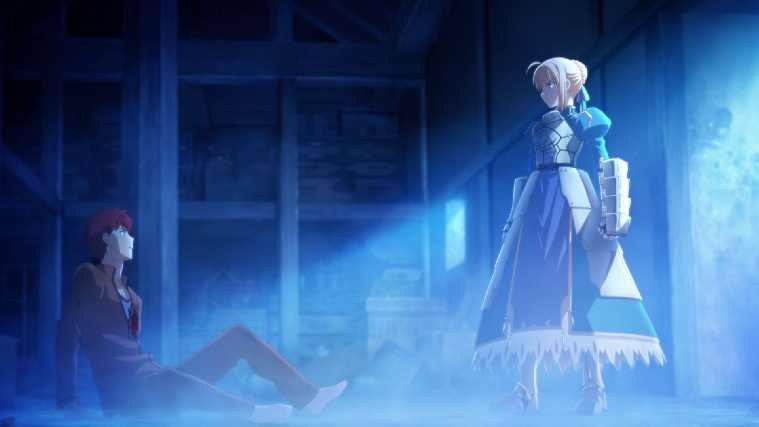 [Fate/Stay Night Unlimited Blade Works] Saber, Shirou Emiya