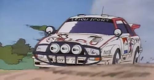 Racing Anime Goddamn