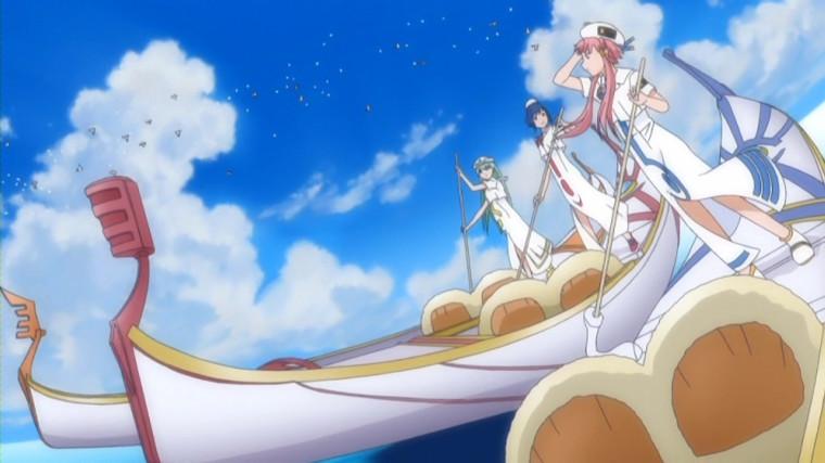 Gondolas Aria the Animation