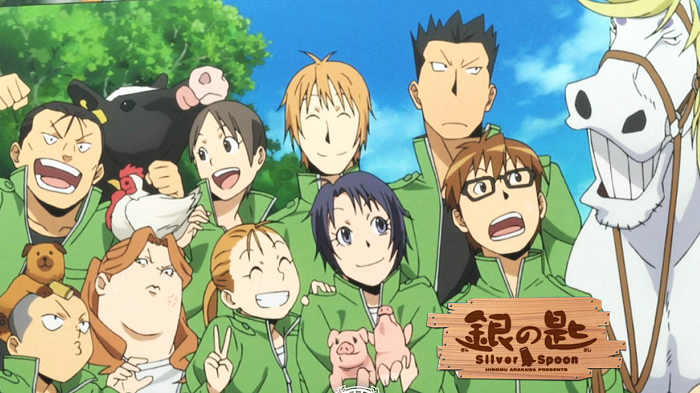 Top 10 Coming-of-Age Anime Series - Gin no Saji (Silver Spoon)