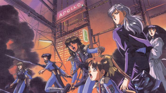 Post-Apocalyptic Anime, Silent Mobius, Rally Cheyenne, Katsumi Liqueur, Kiddy Phenil