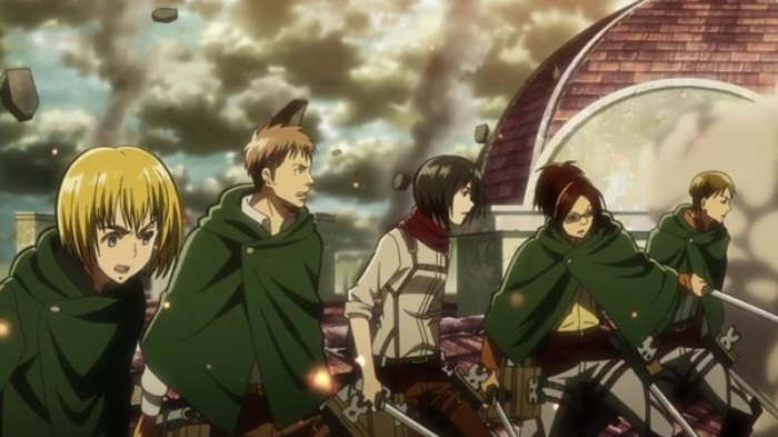 Post-Apocalyptic Anime, Attack on Titan, Mickasa Ackerman, Armin Arlert, Dieter