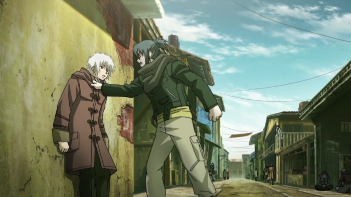 Post-Apocalyptic Anime, No. 6, Shion, Nezumi