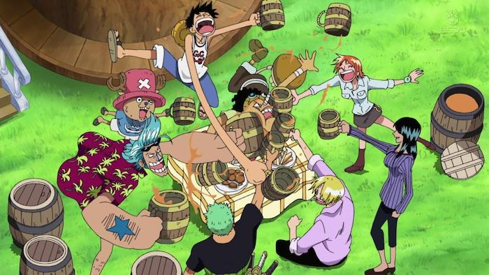 One Piece Nakama Crew Celebration