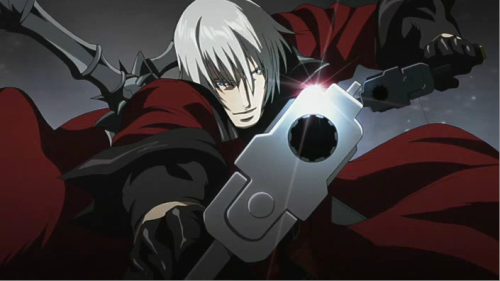 Anime Devil and Demon Characters, Dante, Devil May Cry