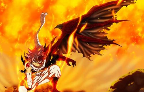 Natsu Dragneel, anime demon boy, Fairy Tail