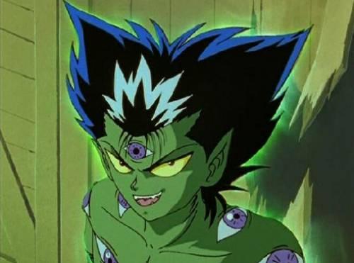 Hiei, demon boy, Yuu Yuu Hakusho