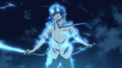Rin Okumura, anime devil boy, Blue Exorcist