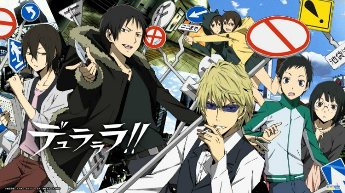Anime from Light Novel Durarara!!
