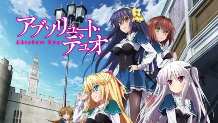 Anime from Light Novel Absolute Duo