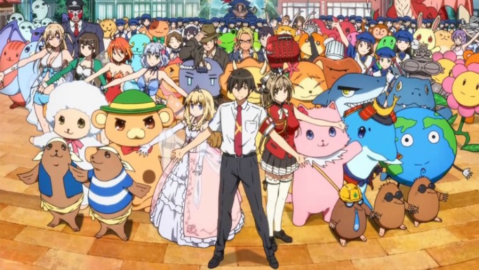 Anime from Light Novel Amagi Brilliant Park