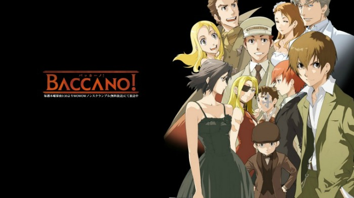 Anime from Light Novel Baccano!