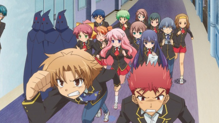 Anime from Light Novel Baka and Test