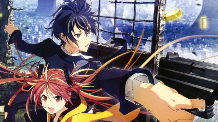 Anime from Light Novel Black Bullet