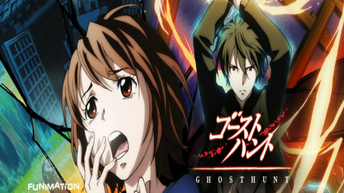 Anime from Light Novel Ghost Hunt