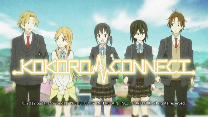 Anime from Light Novel Kokoro Connect