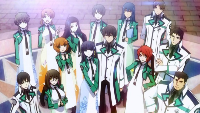 Anime from Light Novel Mahouka Koukou no Rettousei