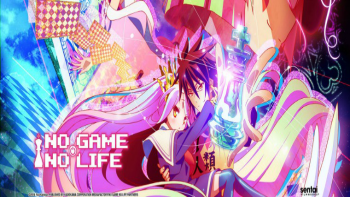 Anime from Light Novel No Game No Life