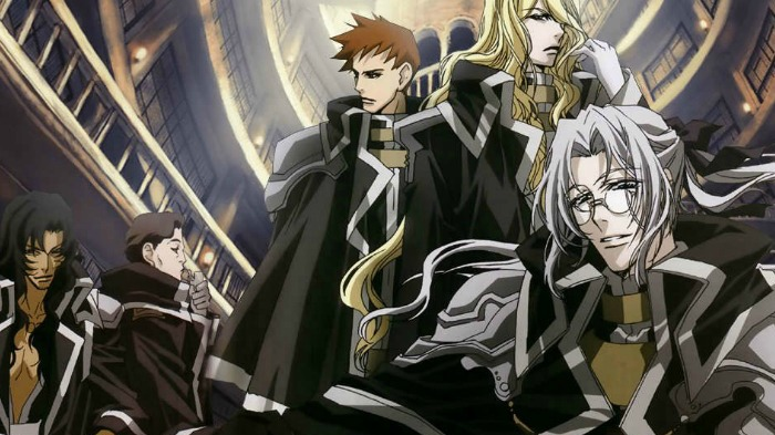 Anime from Light Novel Trinity Blood