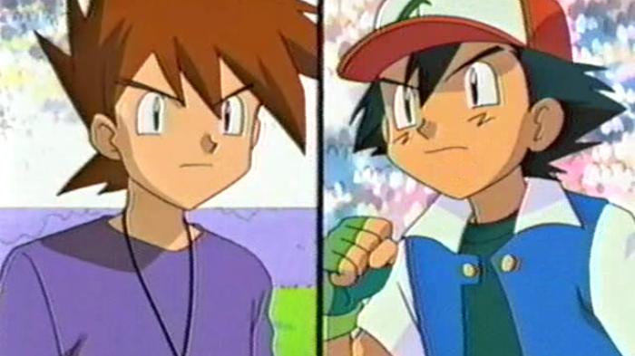Pokemon_Satoshi (Ash), Shigeru (Gary)