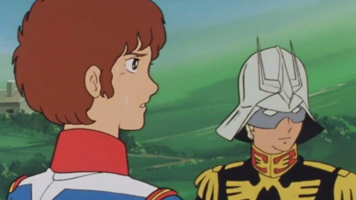 Mobile Suit Gundam_Amuro, Char