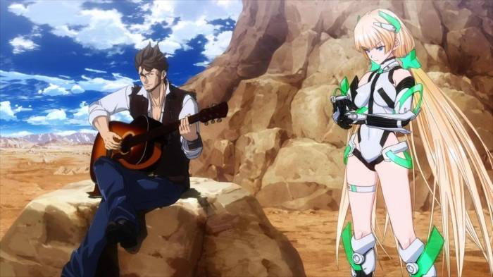 CGI Anime, Zarik Kajiwara, Angela Balzac, Expelled from Paradise