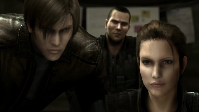 CGI Anime, Leon Scott Kennedy, Angela Miller, Greg Glenn