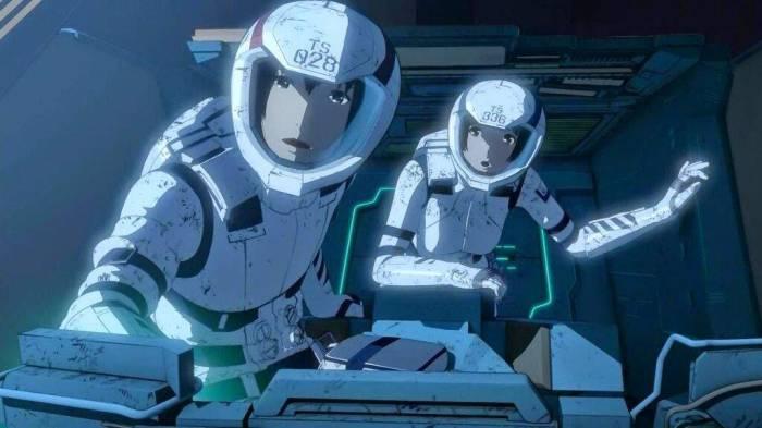 CGI Anime, Nagate Tanikaze, Shizuka Hoshijiro, Knights of Sidonia