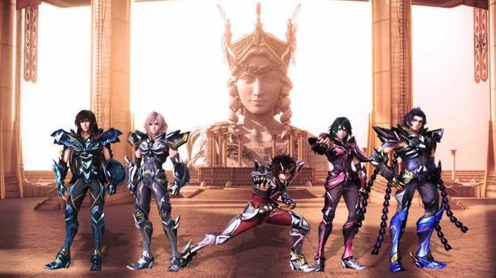 CGI Anime, Seiya Pegasus, Ikki Phoenix, Shiryuu Dragon, Saint Seiya: Legend of Sanctuary