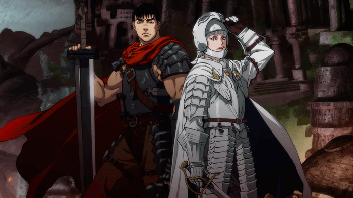 CGI Anime, Guts, Griffith, Berserk: The Golden Age Arc